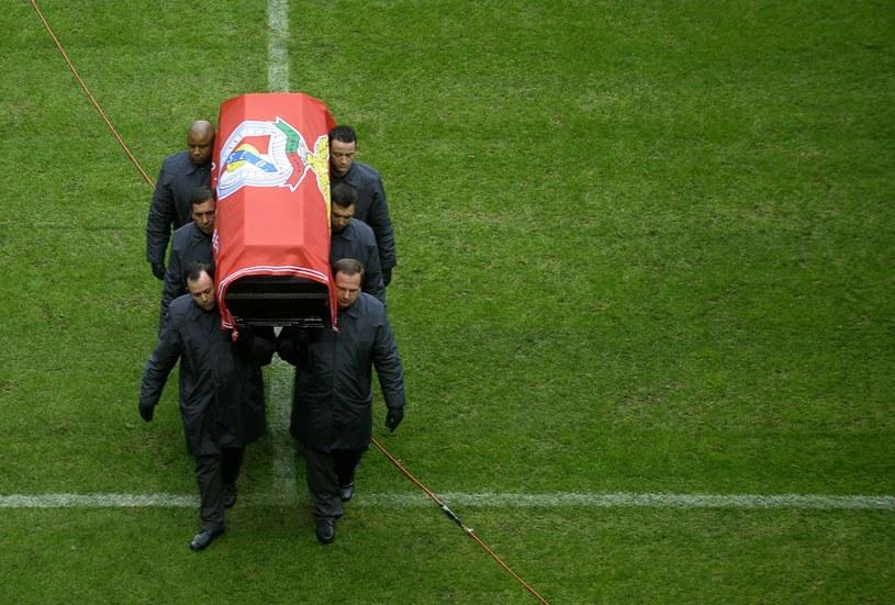 Pogrzeb Eusebio /AFP