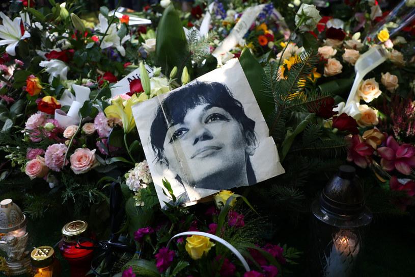 Pogrzeb Ewy Demarczyk /Beata Zawrzel /Reporter