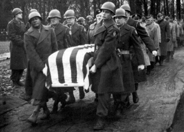Pogrzeb generała George'a S. Pattona /INTERIA.PL/materiały prasowe