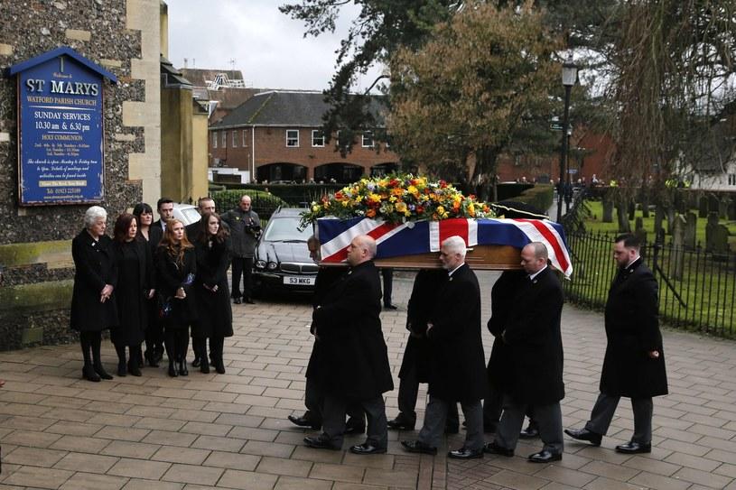 Pogrzeb Grahama Taylora /AFP