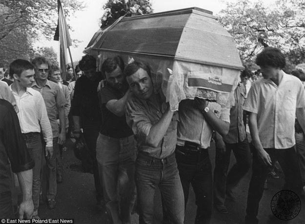 Pogrzeb Grzegorza Przemyka /East News
