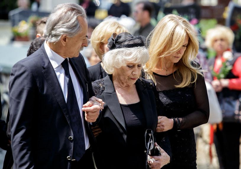 Pogrzeb Henryka Loski odbył się 9 czerwca /Marek Kuwak /Agencja FORUM