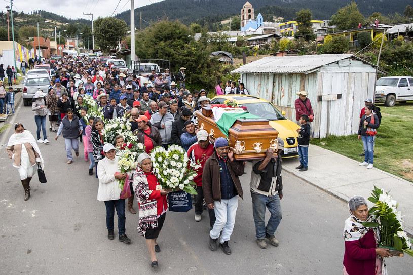 Pogrzeb Homero Gomeza w Meksyku /AFP
