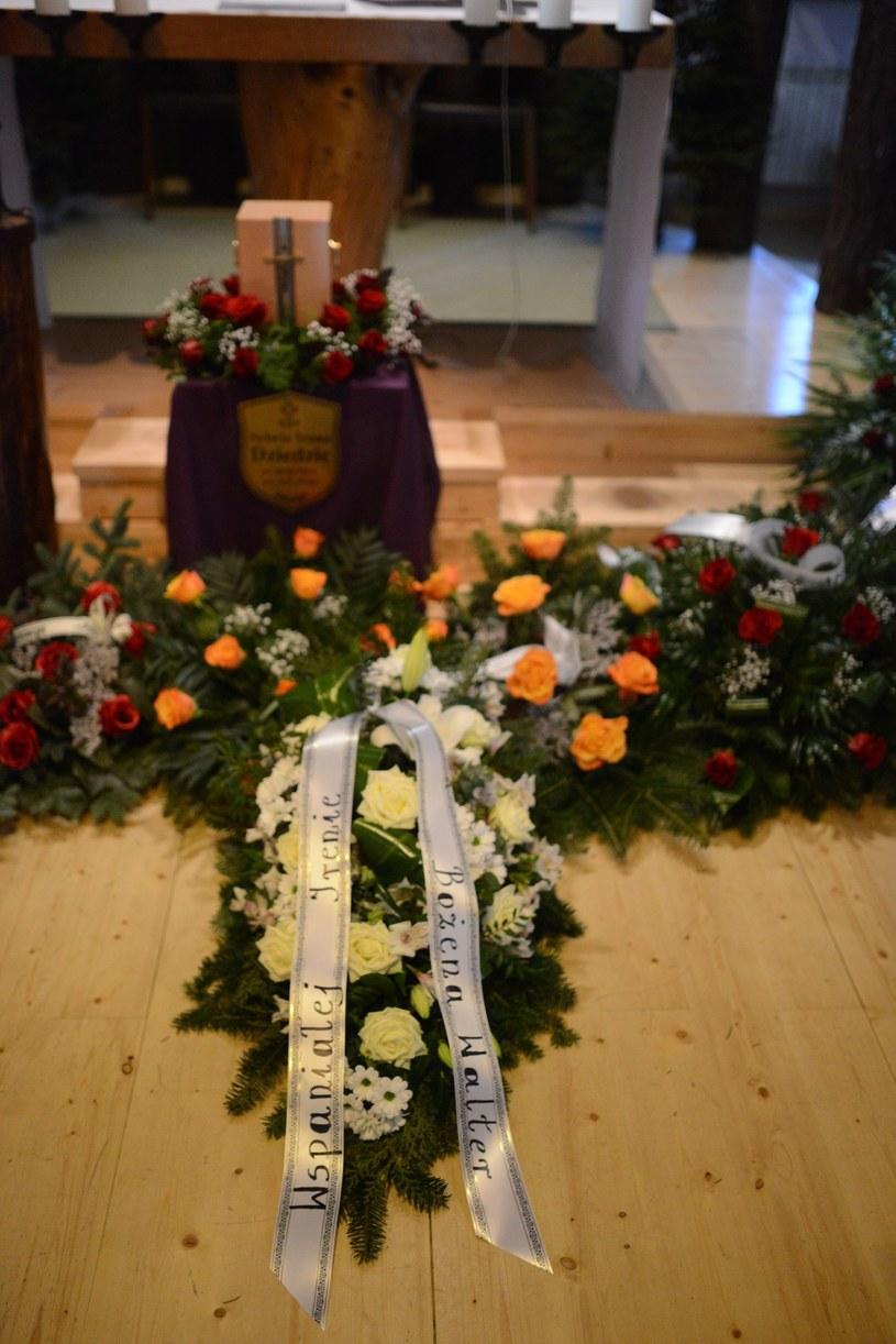 Pogrzeb Ireny Dziedzic /Tadeusz Wypych /Reporter