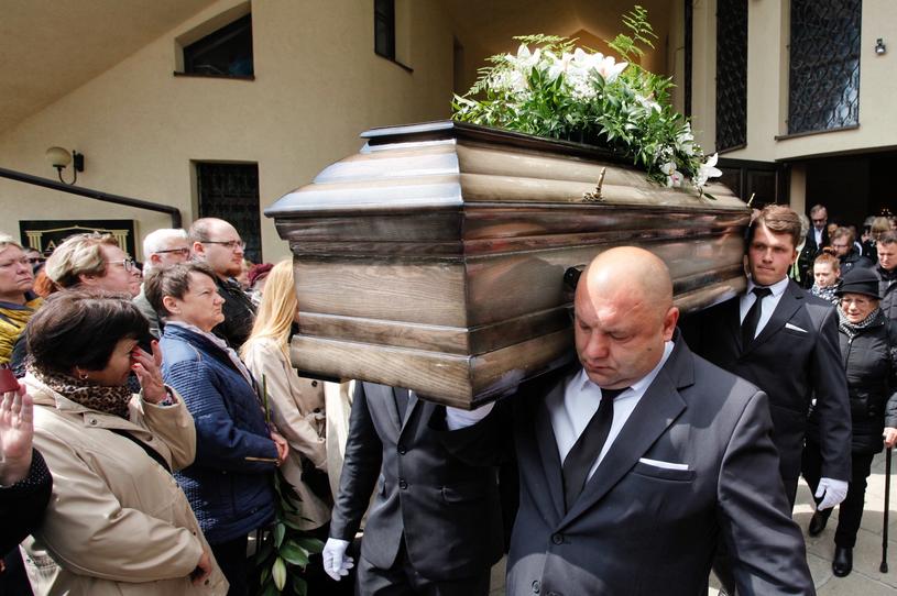 Pogrzeb Izabeli Skrybant-Dziewiątkowskiej /PAP/Aleksander Koźmiński /PAP