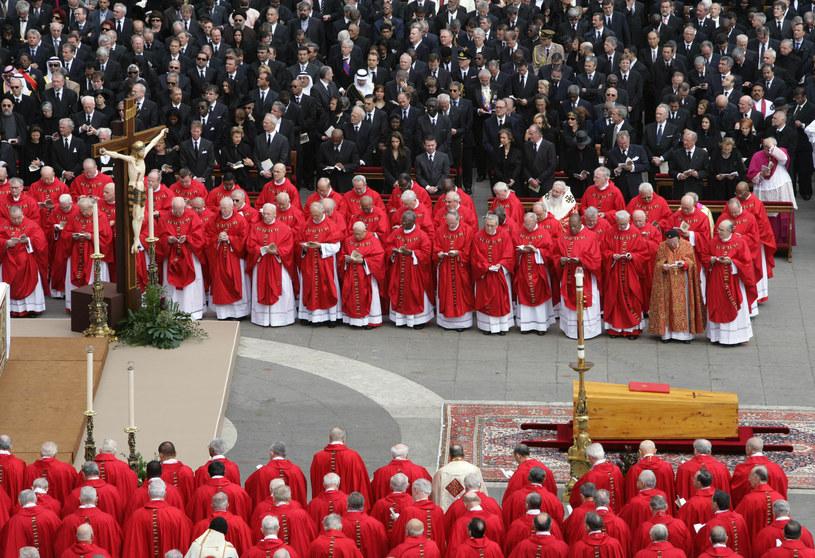 Pogrzeb Jana Pawła II /AFP