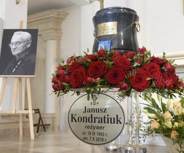 Pogrzeb Janusza Kondratiuka