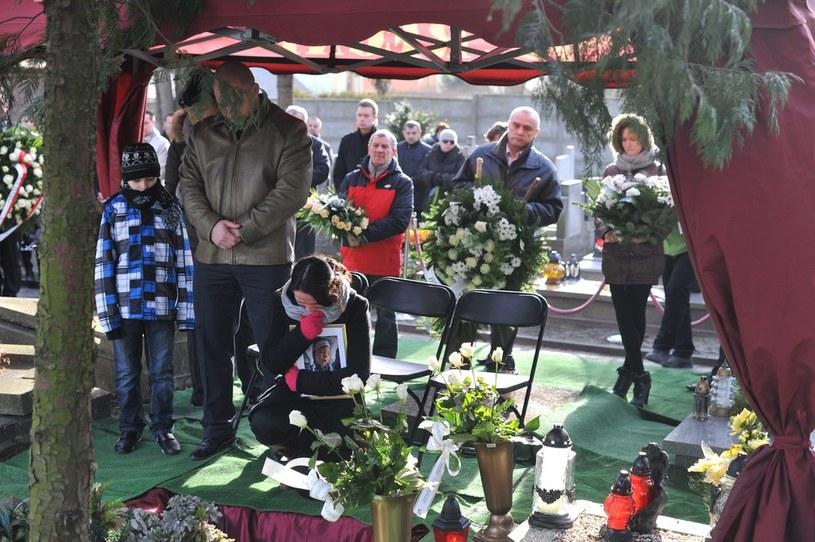 Pogrzeb Julii Bonk /Nikodem Jacuk /Reporter