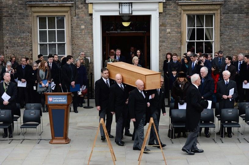 Pogrzeb króla Ryszarda ma miejsce 530 lat po jego śmierci /PAP/EPA