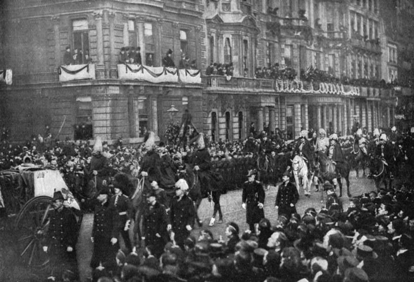 Pogrzeb królowej Wiktorii. / Print Collector / Contributor /Getty Images