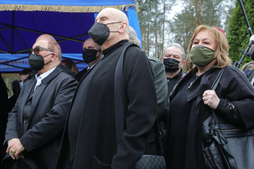 Pogrzeb Krzysztofa Krawczyka. Na zdjęciu Marian Lichtman /Piotr Molecki /East News