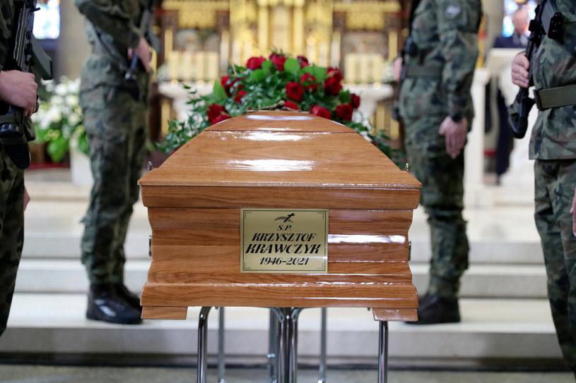 Pogrzeb Krzysztofa Krawczyka /Piotr Molecki/East News /East News