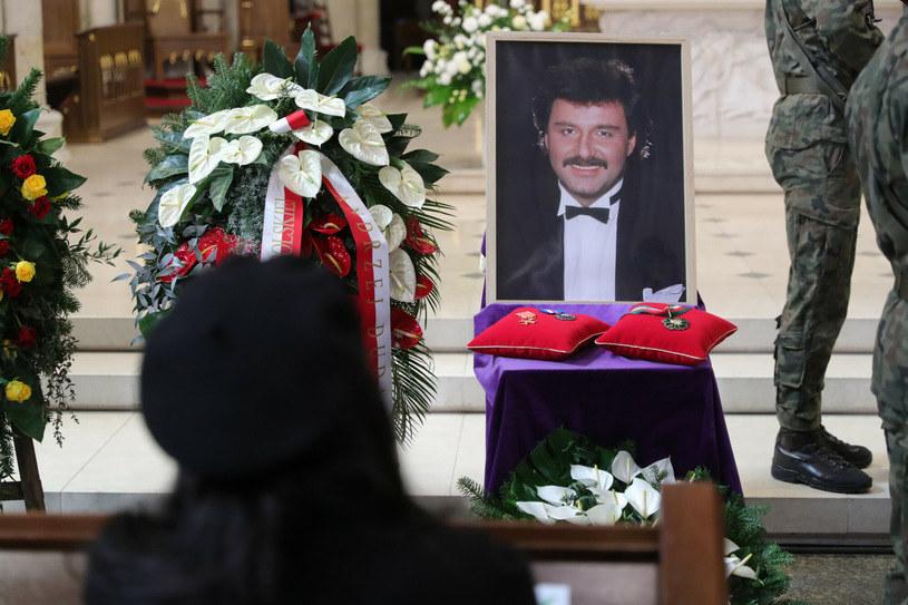 Pogrzeb Krzysztofa Krawczyka / Piotr Malecki  /East News