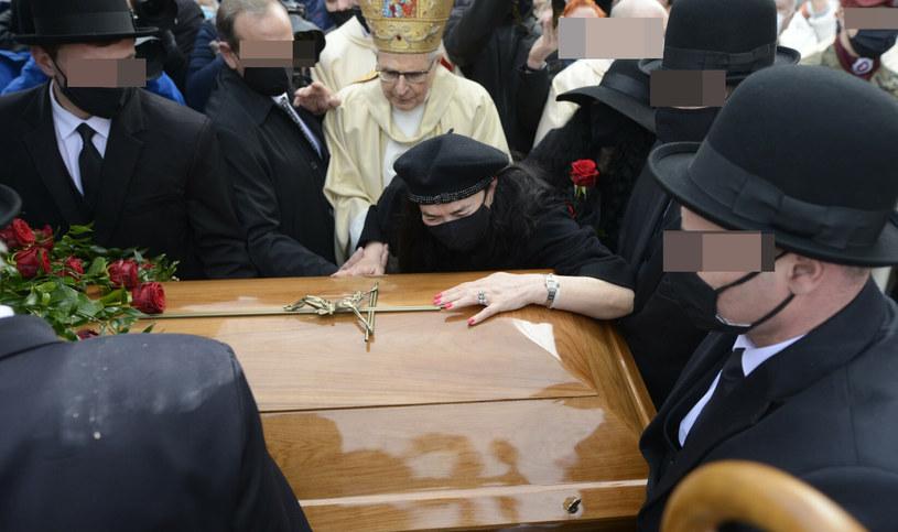 Pogrzeb Krzysztofa Krawczyka /Tadeusz Wypych /Reporter
