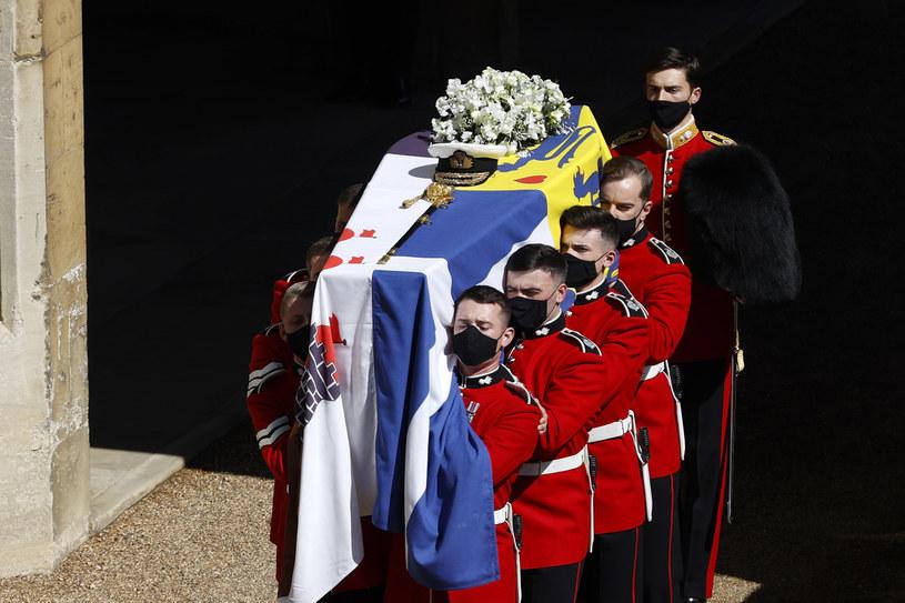 Pogrzeb księcia Filipa odbył się w ubiegłą sobote /Adrian Dennis/WPA Pool/Getty Images /Getty Images