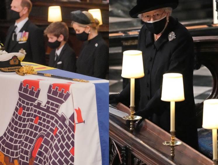 Pogrzeb księcia Filipa /WPA Pool / Pool /Getty Images