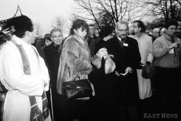 Pogrzeb księdza Stefana Niedzielaka /Haley /East News
