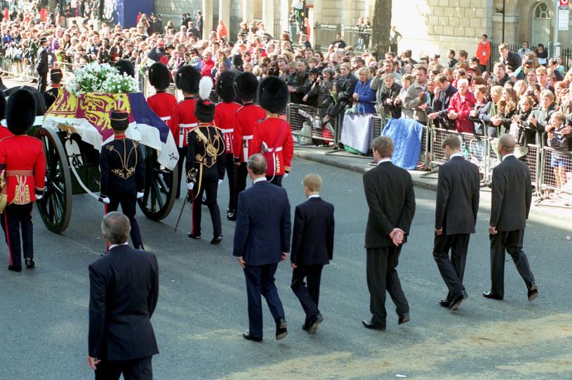 Pogrzeb księżnej Diany /Dave Benett /Getty Images