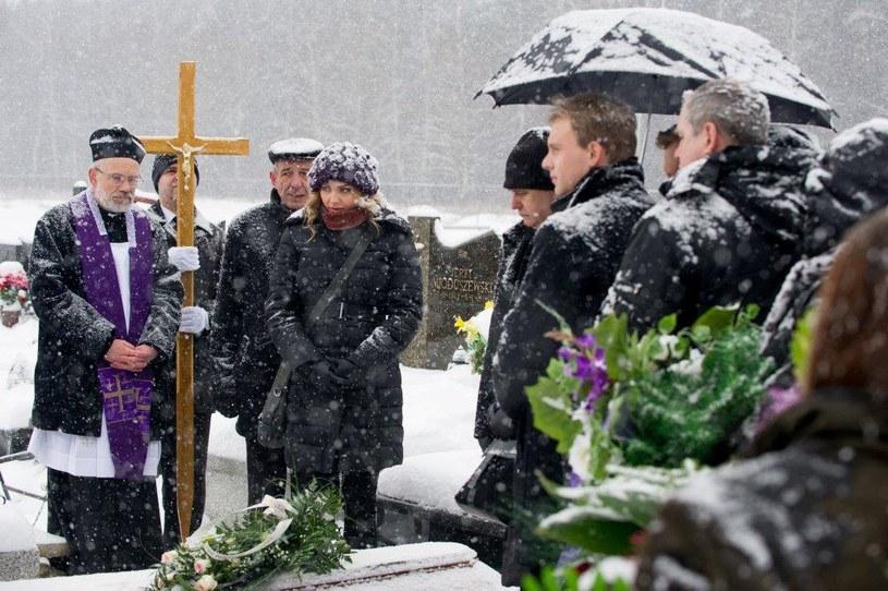 Pogrzeb Magdy /TVN