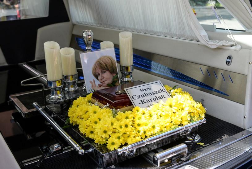 Pogrzeb Marii Czubaszek /PAP