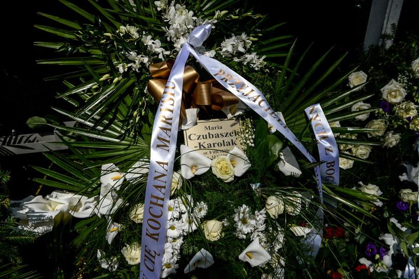 Pogrzeb Marii Czubaszek /Marcin Obara /PAP