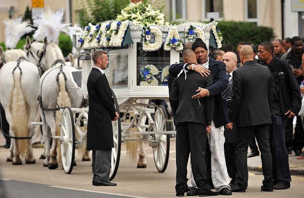 Pogrzeb Marka Duggana /AFP