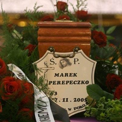 Pogrzeb Marka Perepeczki fot. Piotr Grzybowski /Agencja SE/East News