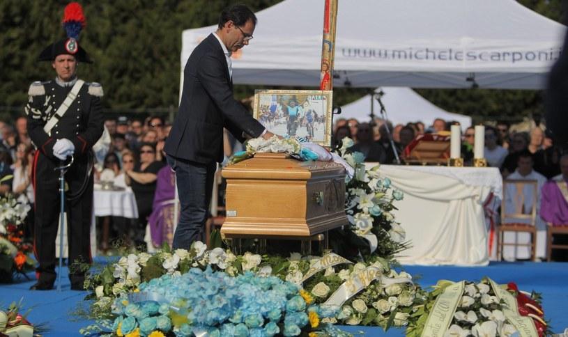 Pogrzeb Michele Scarponiego /PAP/EPA