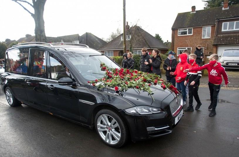 Pogrzeb Olly'ego Stephensa /Rex Features /East News