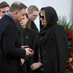 Pogrzeb Pawła Królikowskiego z udziałem Andrzeja Dudy