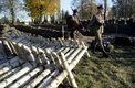 Uroczystości pogrzebowe szczątków 100 żołnierzy Wojska Polskiego