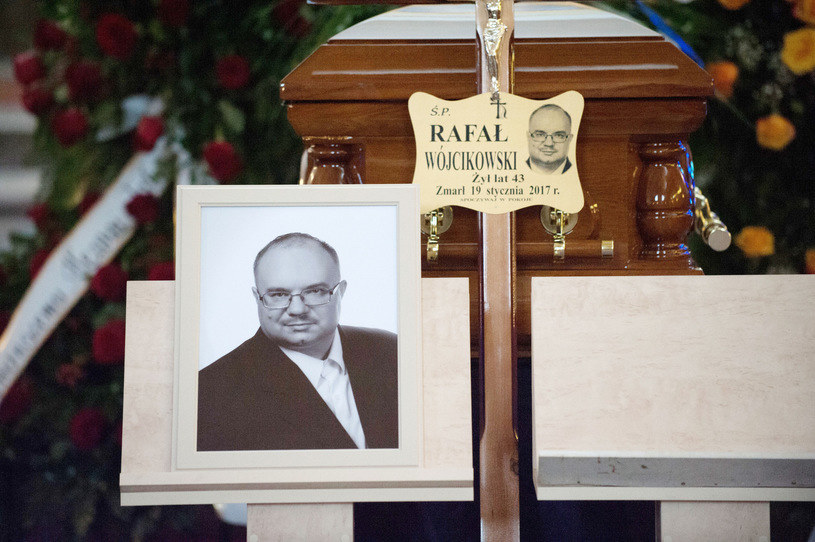 Pogrzeb posła Wójcikowskiego /ANDRZEJ ZBRANIECKI /East News