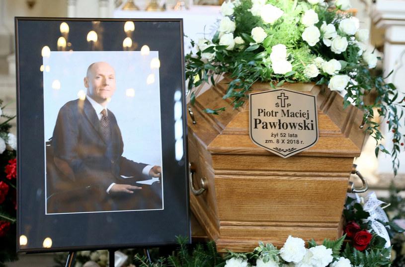 Pogrzeb prezesa Fundacji Integracja Piotra Pawłowskiego /Piotr Molecki /East News