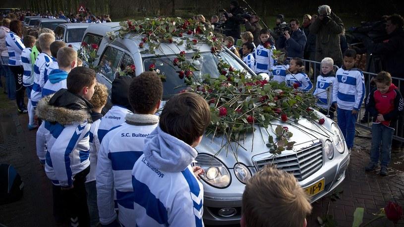Pogrzeb Richarda Nieuwenhuizena /AFP