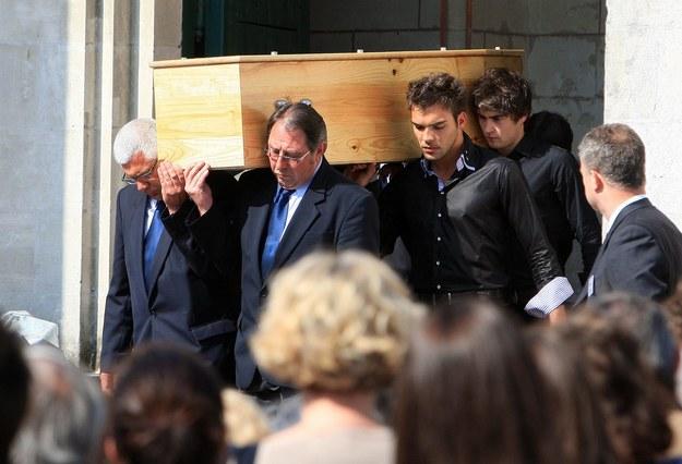 Pogrzeb rodziny Xaviera Duponta de Ligonnèsa /CHARLY TRIBALLEAU  /PAP/EPA
