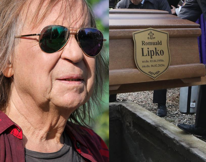 Pogrzeb Romualda Lipki odbył się 12 lutego /Jacek Szydłowski /Agencja FORUM