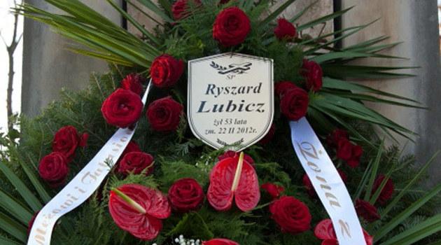 Pogrzeb Ryszarda Lubicza /Agencja W. Impact