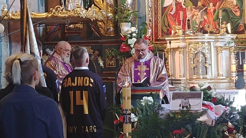 Pogrzeb śp. Janusza Hajnosa /Michał Białoński /INTERIA.PL