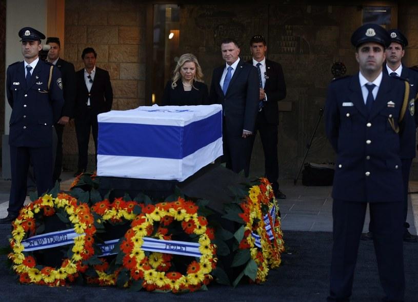 Pogrzeb Szimona Peresa /ABIR SULTAN /PAP