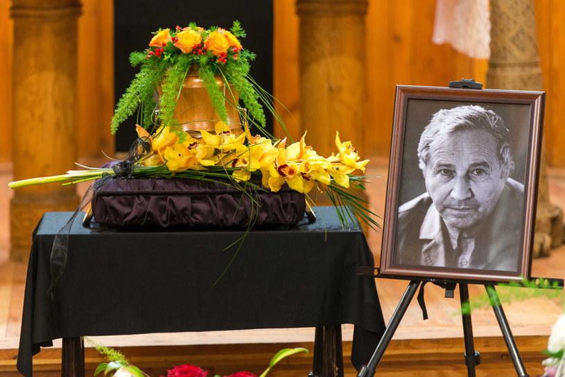 Pogrzeb Tadeusza Rózewicza /Maciej Kulczyński /PAP