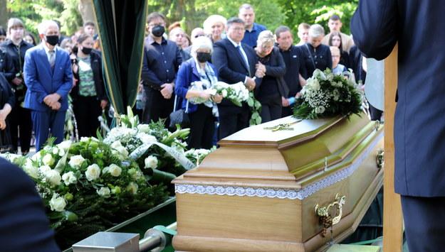 Pogrzeb w Gostyniu / Marcin Bielecki    /PAP