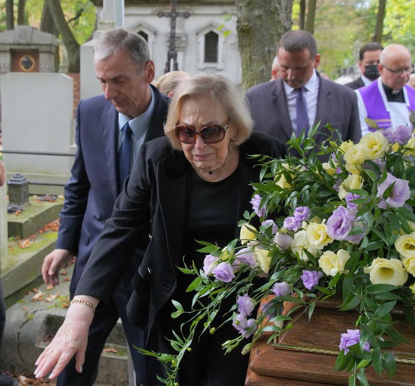 Pogrzeb Wiesława Gołasa /Pawel Wodzynski/East News /East News