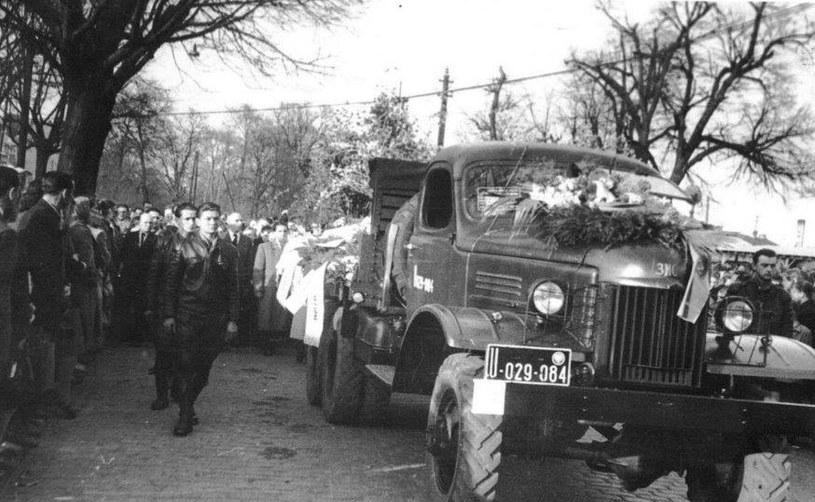 Pogrzeb Zbigniewa Raniszewskiego /Facebook/Zbigniew Raniszewski Historia /materiały prasowe
