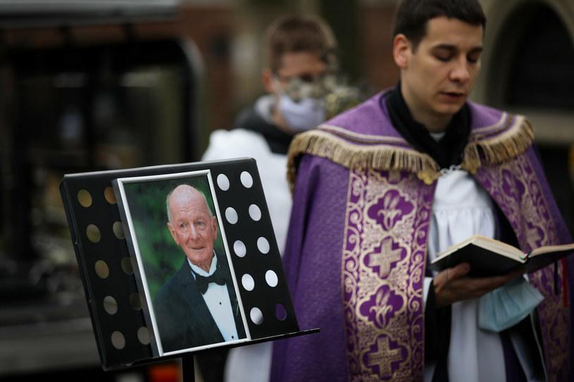 Pogrzeb Zbigniewa Ringera /Andrzej Banaś/ Polska Press /East News