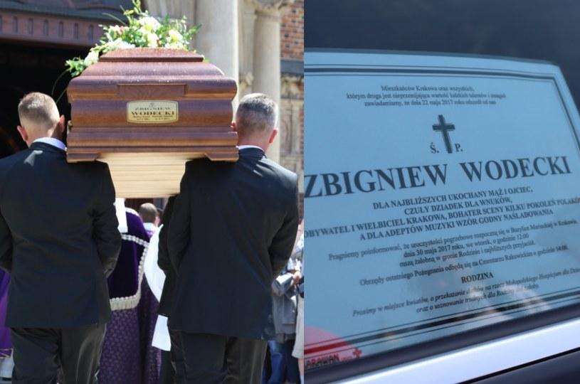 Pogrzeb Zbigniewa Wodeckiego /Klamka /East News