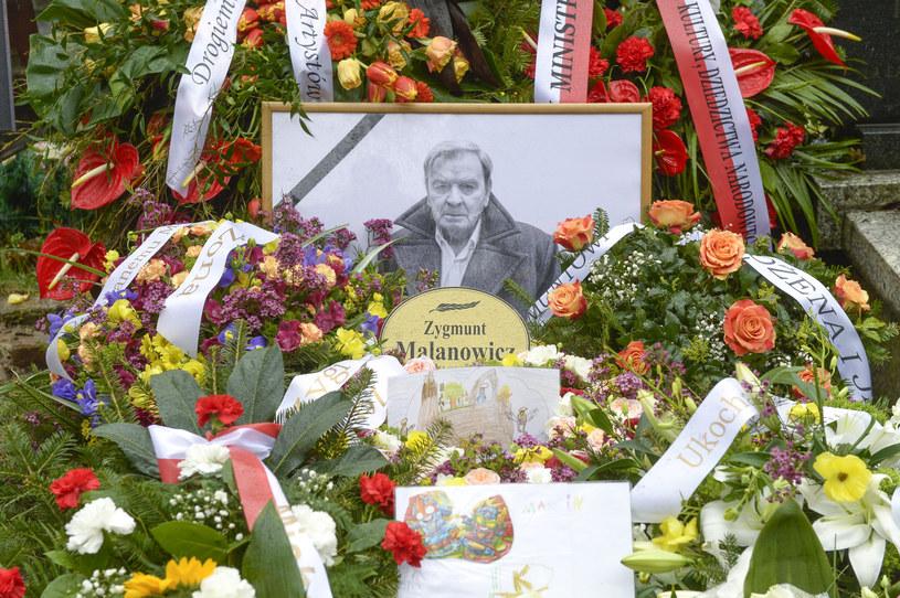 Pogrzeb Zygmunta Malanowicza /Norbert Nieznanicki /AKPA
