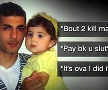 Poinformował na Facebooku, że zabije swoją córkę