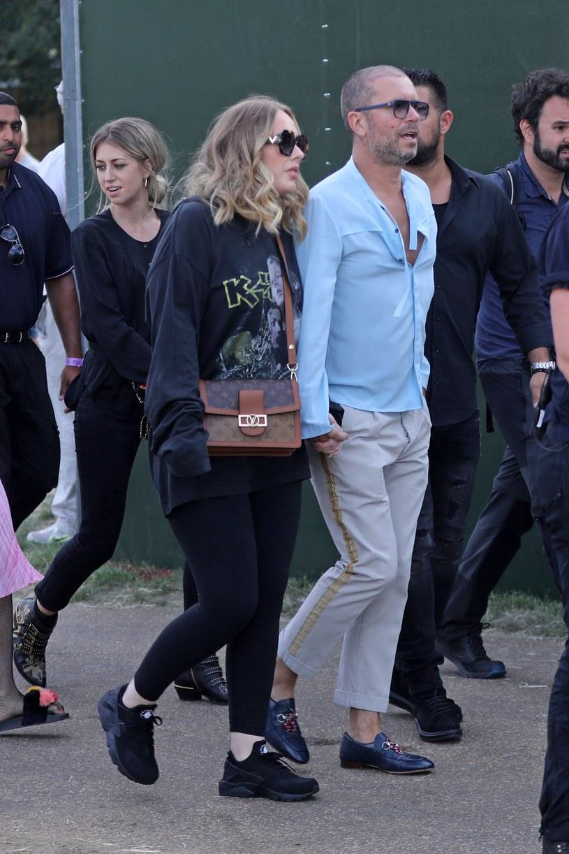Pojawiły się pogłoski, że mężczyzna jest nowym partnerem Adele /Agencja FORUM