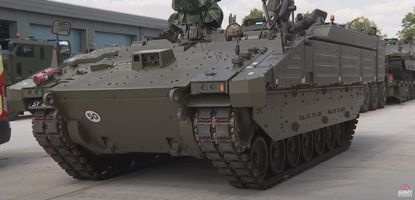 Pojazd Ajax, Fot. British Army /YouTube