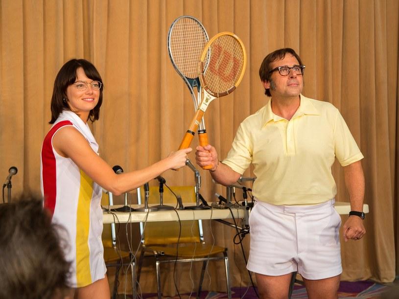 Pojedynek 29-latki z 55-letnim tenisistą oglądały przed telewizorami miliony /materiały dystrybutora